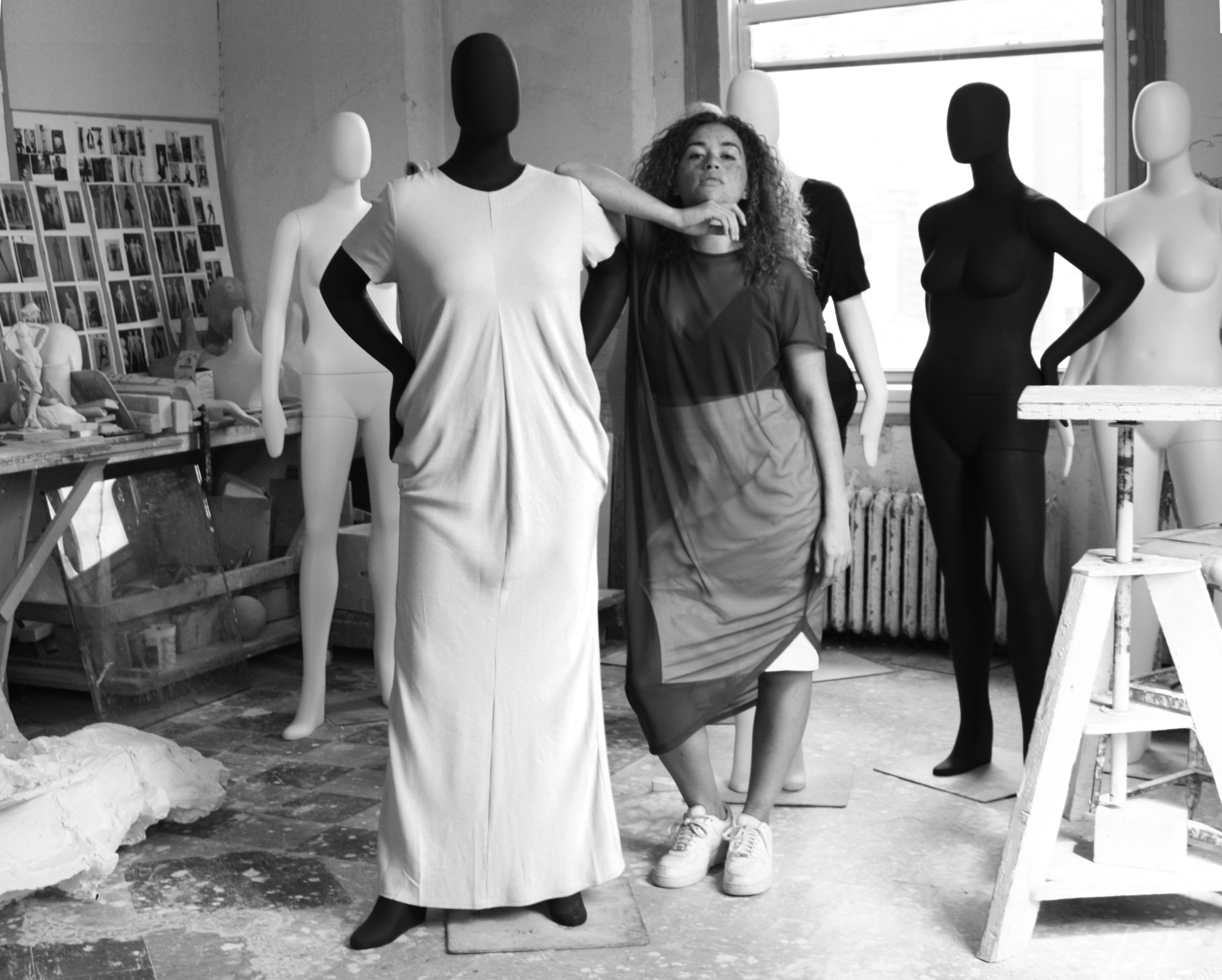 """Tell us about how you first connected with Ralph Pucci International, and how both company cultures ended up blending so well? - When Ralph first reached out to me, he started to talk about how the company was going to make these full figured mannequins. Which begged the question, """"okay, who's going to dress them?"""" and when he looked through the industry, he found us. After visiting our showroom, seeing our clothes up close, he was totally on board. His whole concept is such a great match with what we are all about and what we are trying to do in this industry. And I think we both realized there was a lot of common ground we could take advantage of, creatively. But it wasn't until I really got to the NYC showroom that the penny dropped. I realized that whatever collaboration was possible was going to be amazing."""