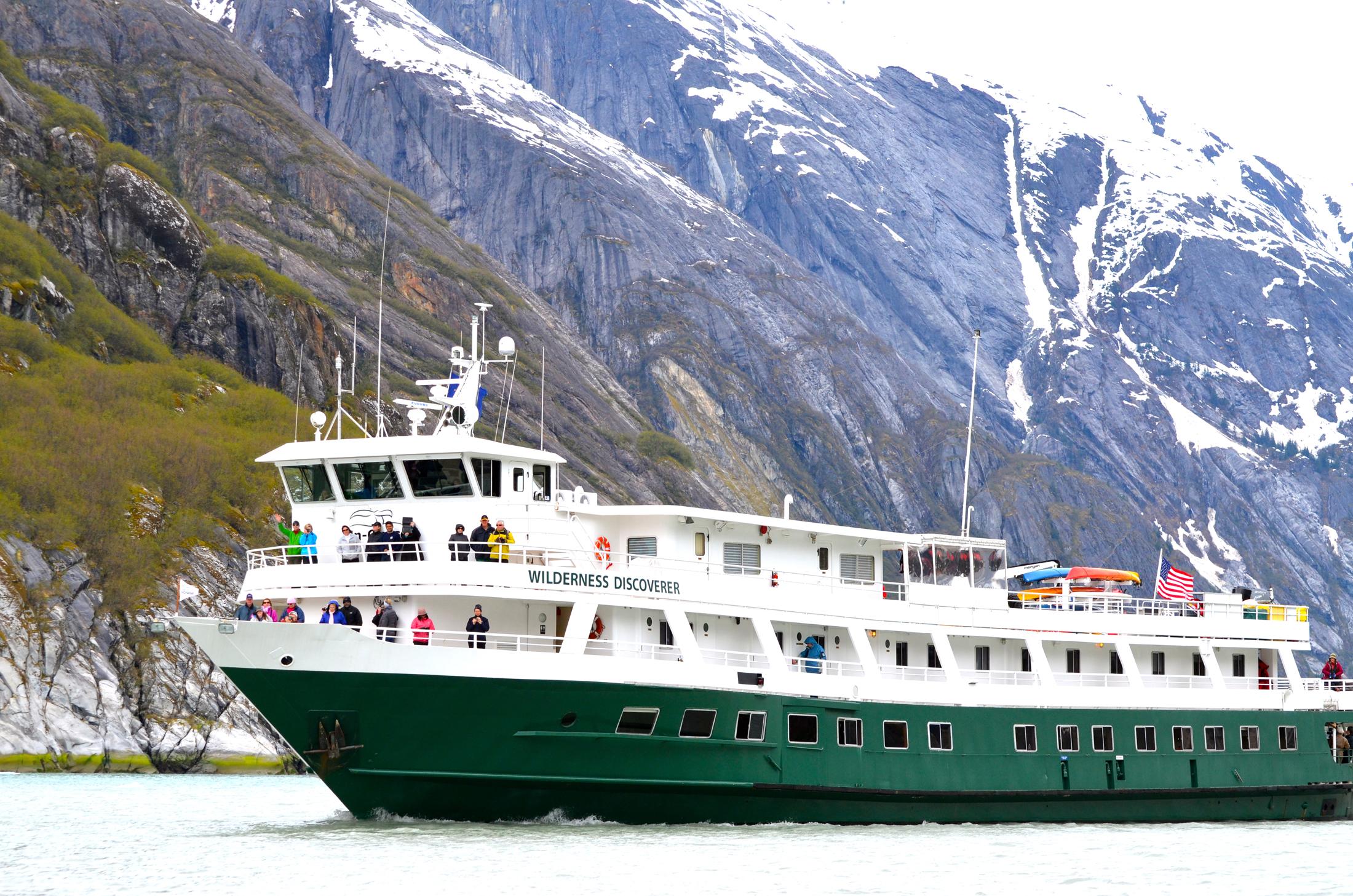 Uncruise's Wilderness Discoverer cruise ship