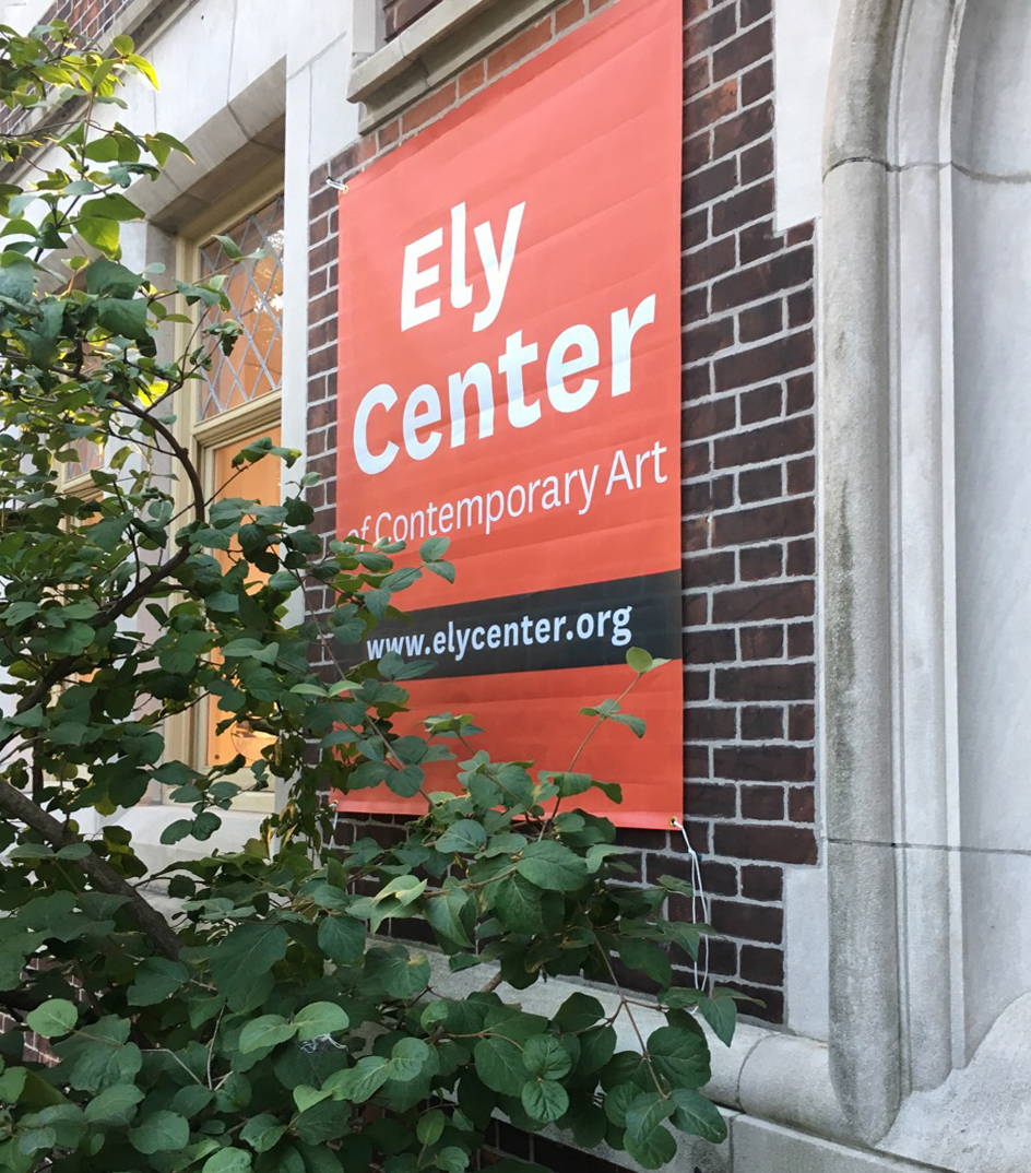 After being known as the John Slade Ely House of Contemporary Art for nearly 55 years, this landmark location has been revisioned as the Ely Center of Contemporary Art to continue Grace T. Ely's wishes to provide New Haven with an extraordinary house for the public to gather in and experience art. Read about these recent significant changes on our Press page. Click to review our  16–17 Annual Visual Record  and our    17-18 Report.