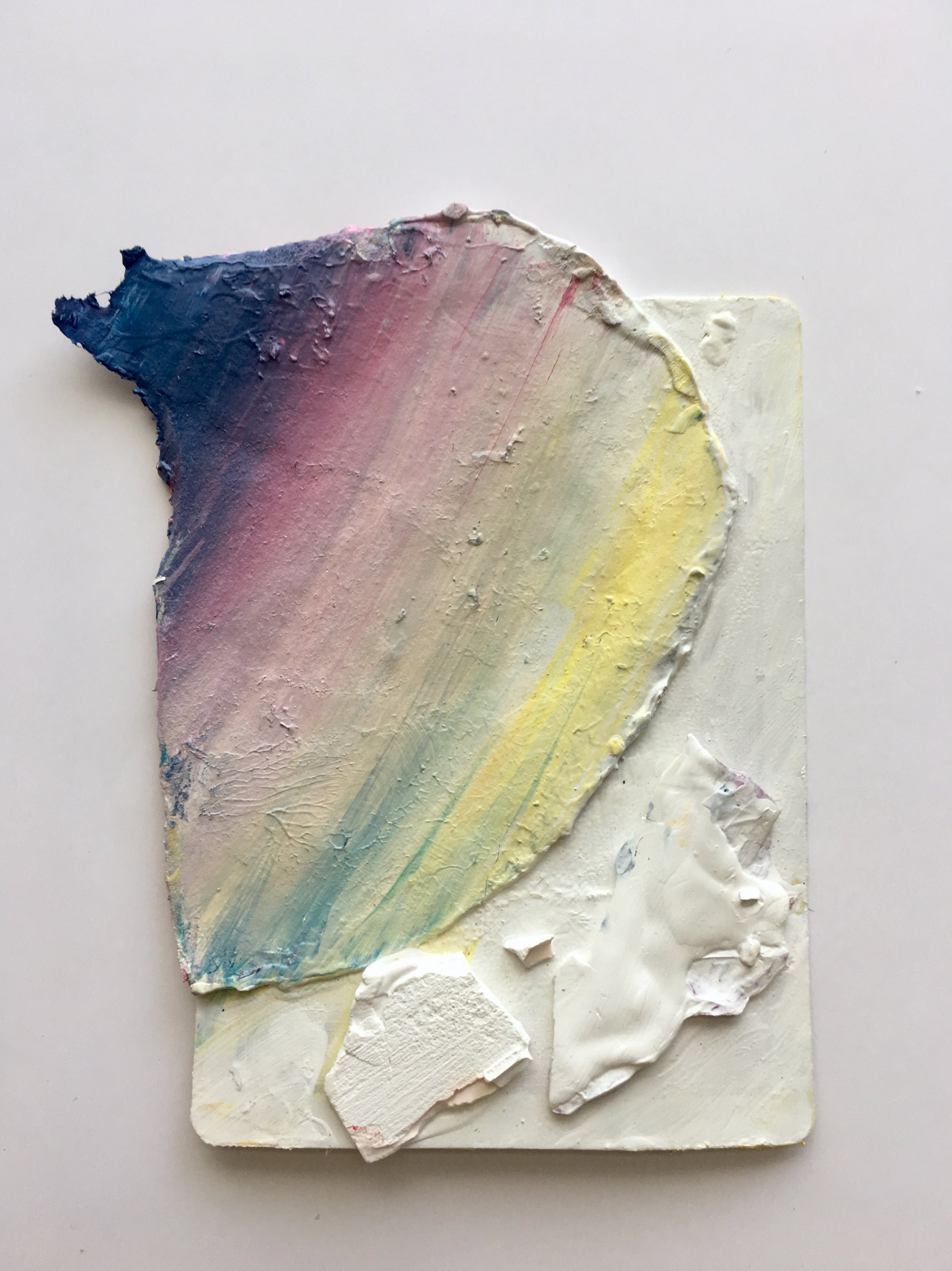 Painted Playing Card , 2018, by Julie Torres
