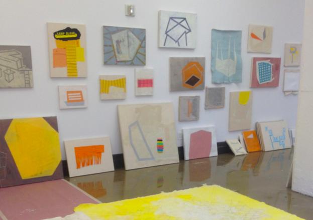 Sharon Butler's studio