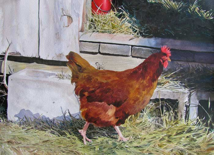 Bivenne Staiger,  Poultry in Motion