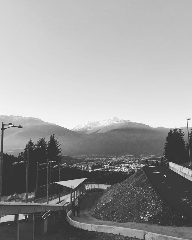 Our line of work takes us to some pretty amazing places. @slidingcentre will be home for us again in a few months during Canadian Champs and World Champs with @bobsleighcanskeleton ! . . . #joblove #chiropractic #sportstherapy #whistler #whistlerslidingcentre #coalitioncalgary