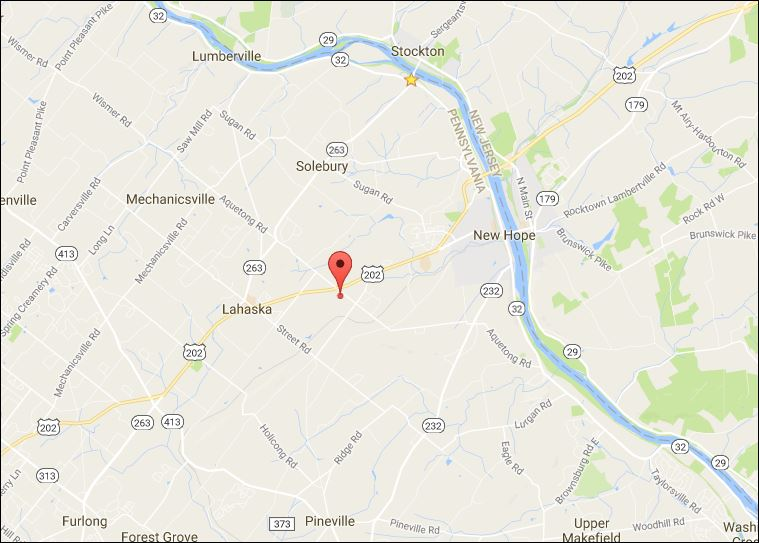 Aquetong Road - For Sale - Bucks County PA - Available Lot - Map.JPG