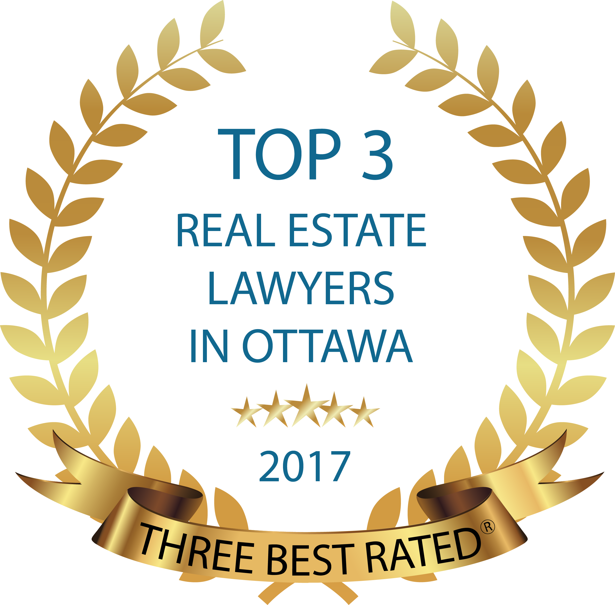 Three Best Rated Real Estate Lawyer 2017