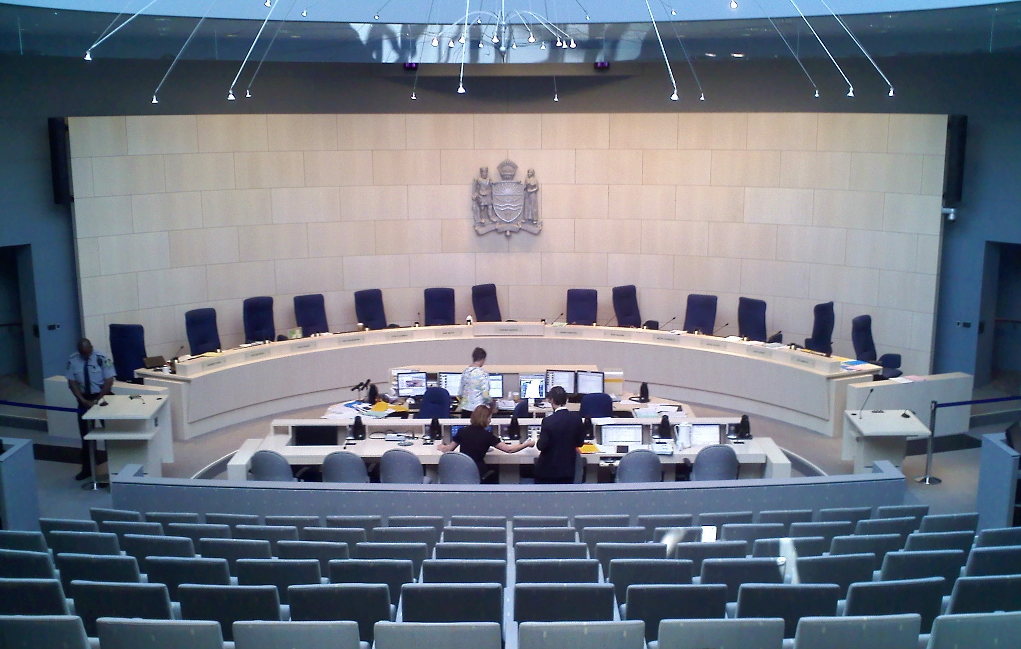 Edmonton City Council Chambers ( source )