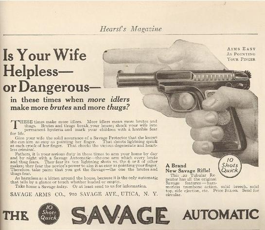 Savage, indeed.