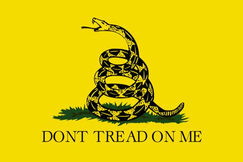 The Gadsden Flag (Christopher Gadsden,1775)