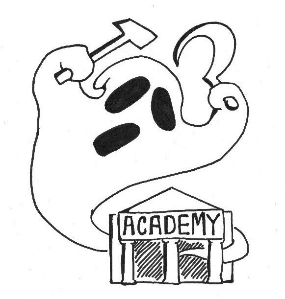 Cartoon by Everett Cobain.