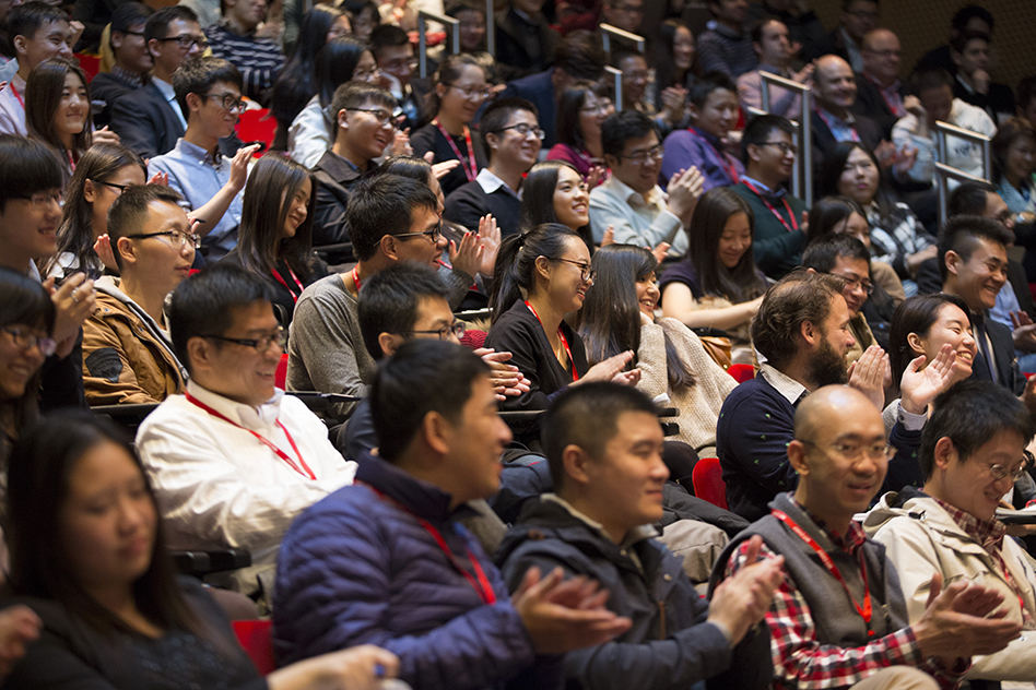 The crowd at the Saturday morning keynote sessions of MIT-CHIEF
