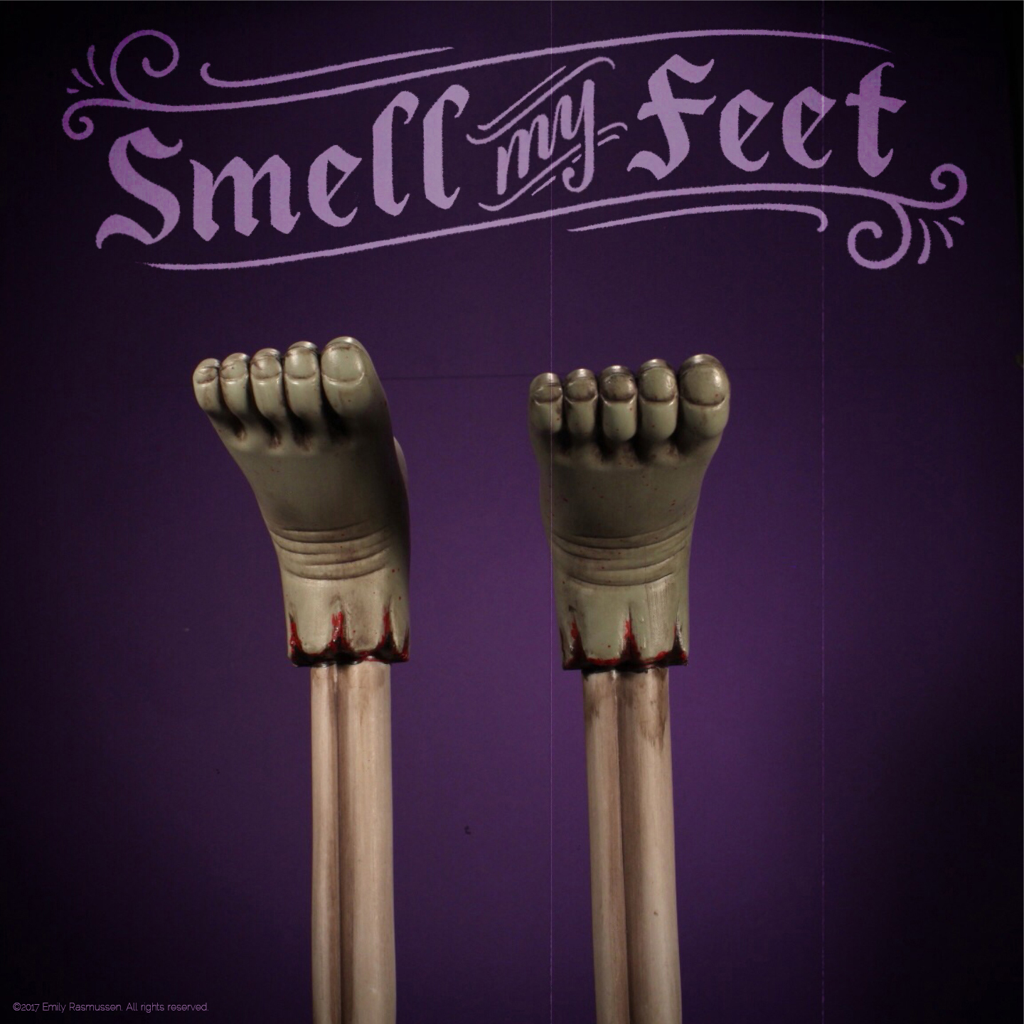 Smell My Feet Halloween lettering