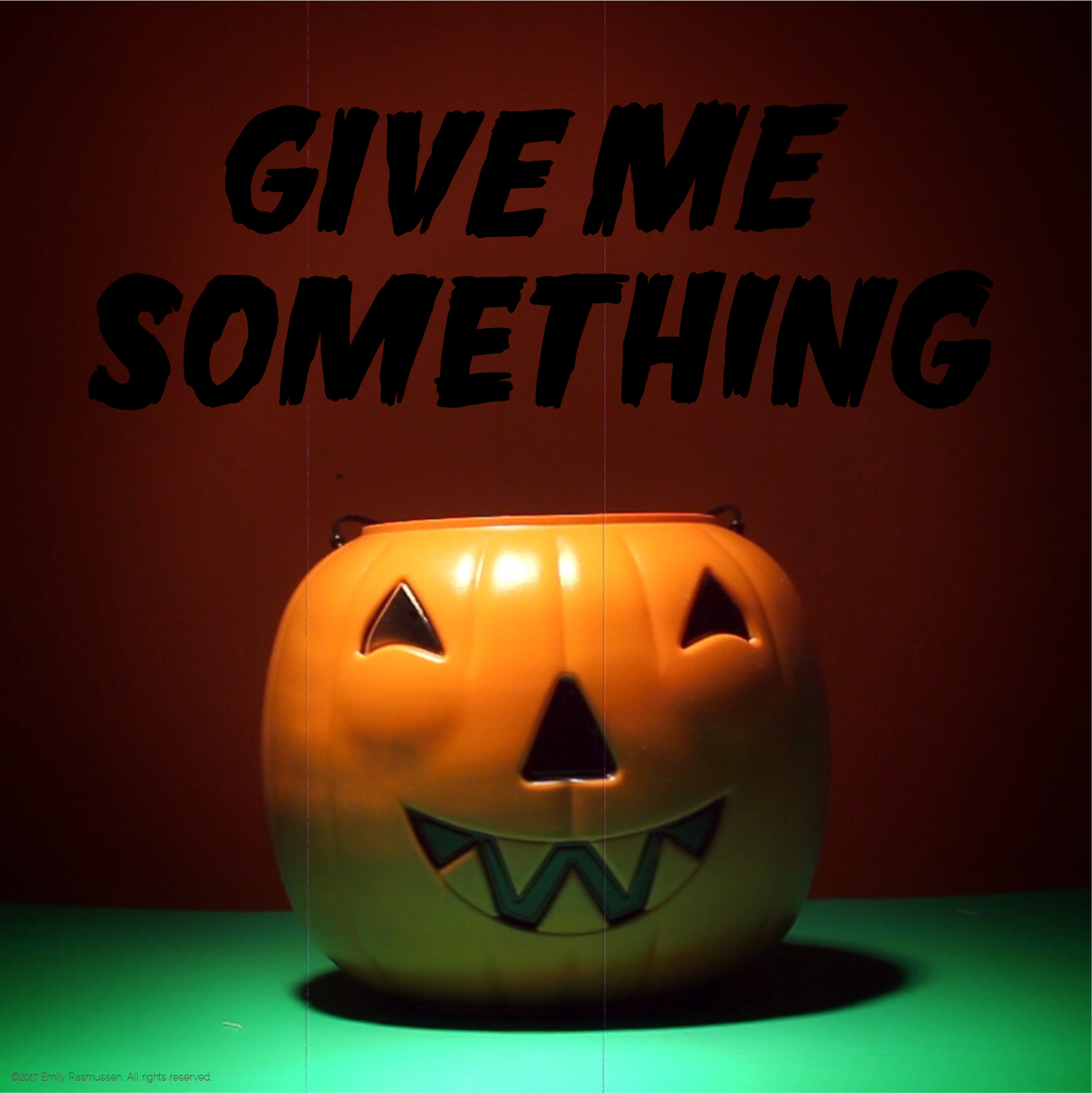 Give Me Something Halloween lettering part 1