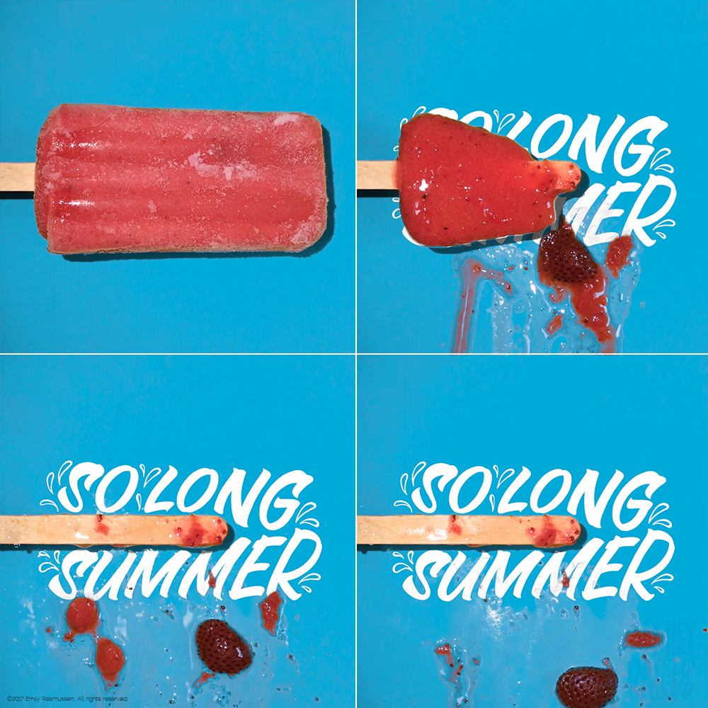 Stills from So Long, Summer video