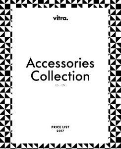 Vitra Price List Accessories 2017    DOWNLOAD