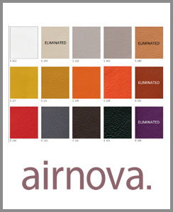 AIRNOVA Materials Chart    DOWNLOAD