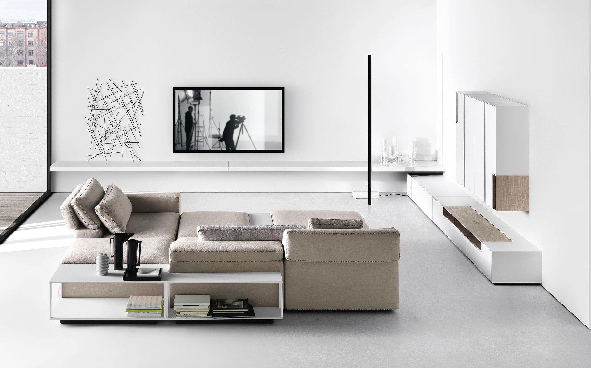 Living room - Sofas - coffee tables