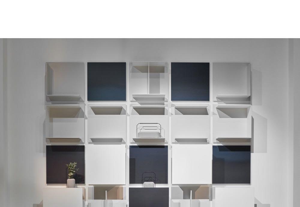 living room - wall units