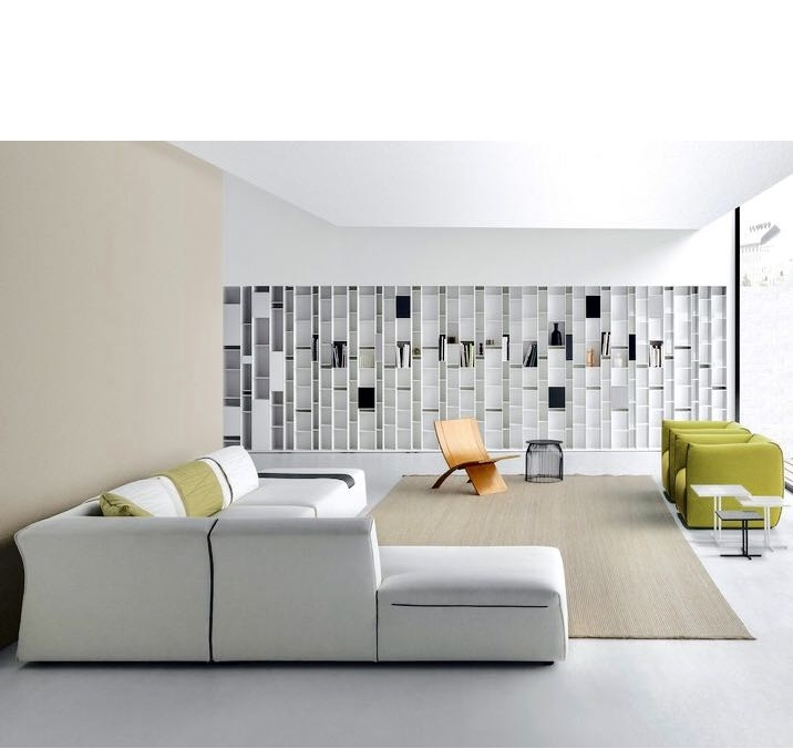 Living room  - wall units - bookcases