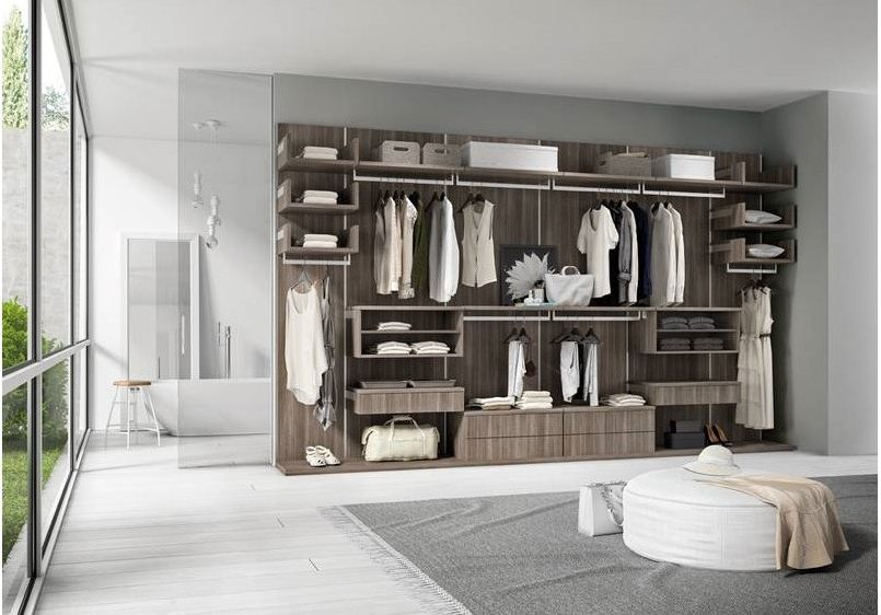 Bedroom - walk in closets - ottomans - stools