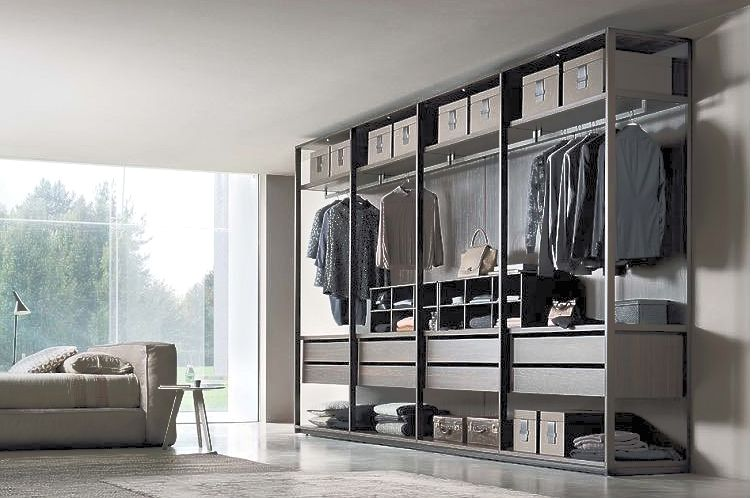 Bedroom - walk in  closets