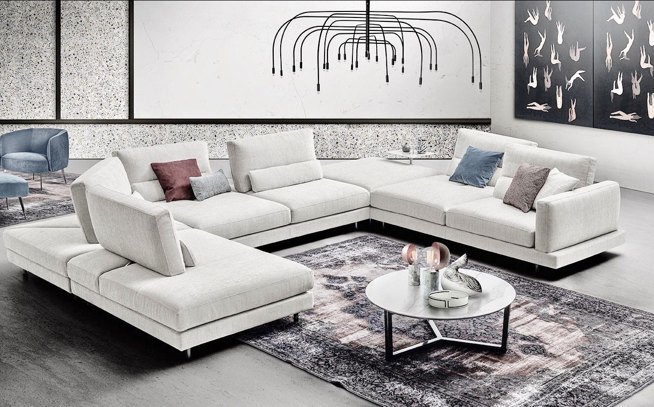 Living room Sofas - coffee tables - pendant lamps