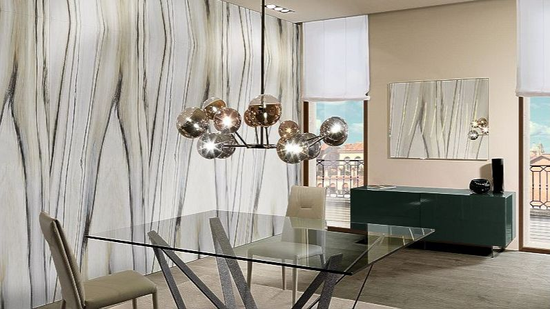 Dining room tables - pendant lamps