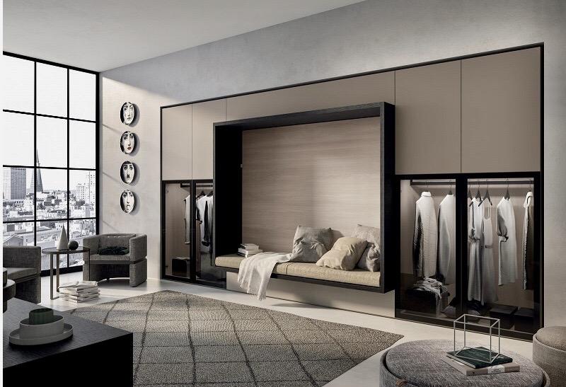 Bedroom - wallbed - wardrobes