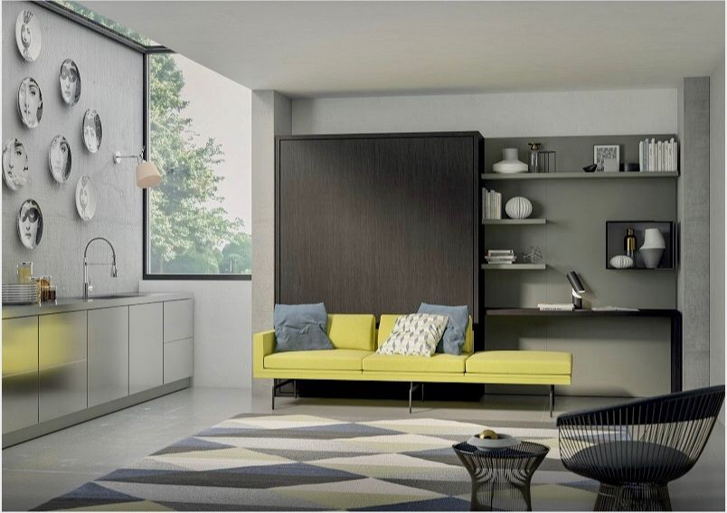 Living room - sofa-beds - armchairs