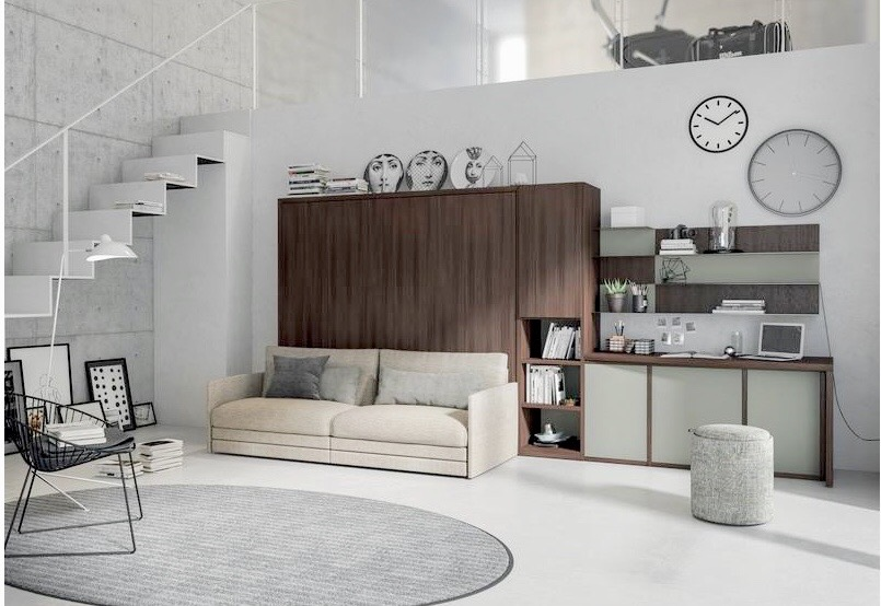 p5Living room - sofa-beds - armchairs - ottomans