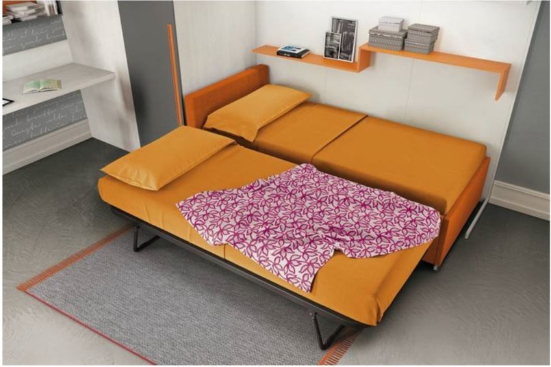 Living room - twin-beds
