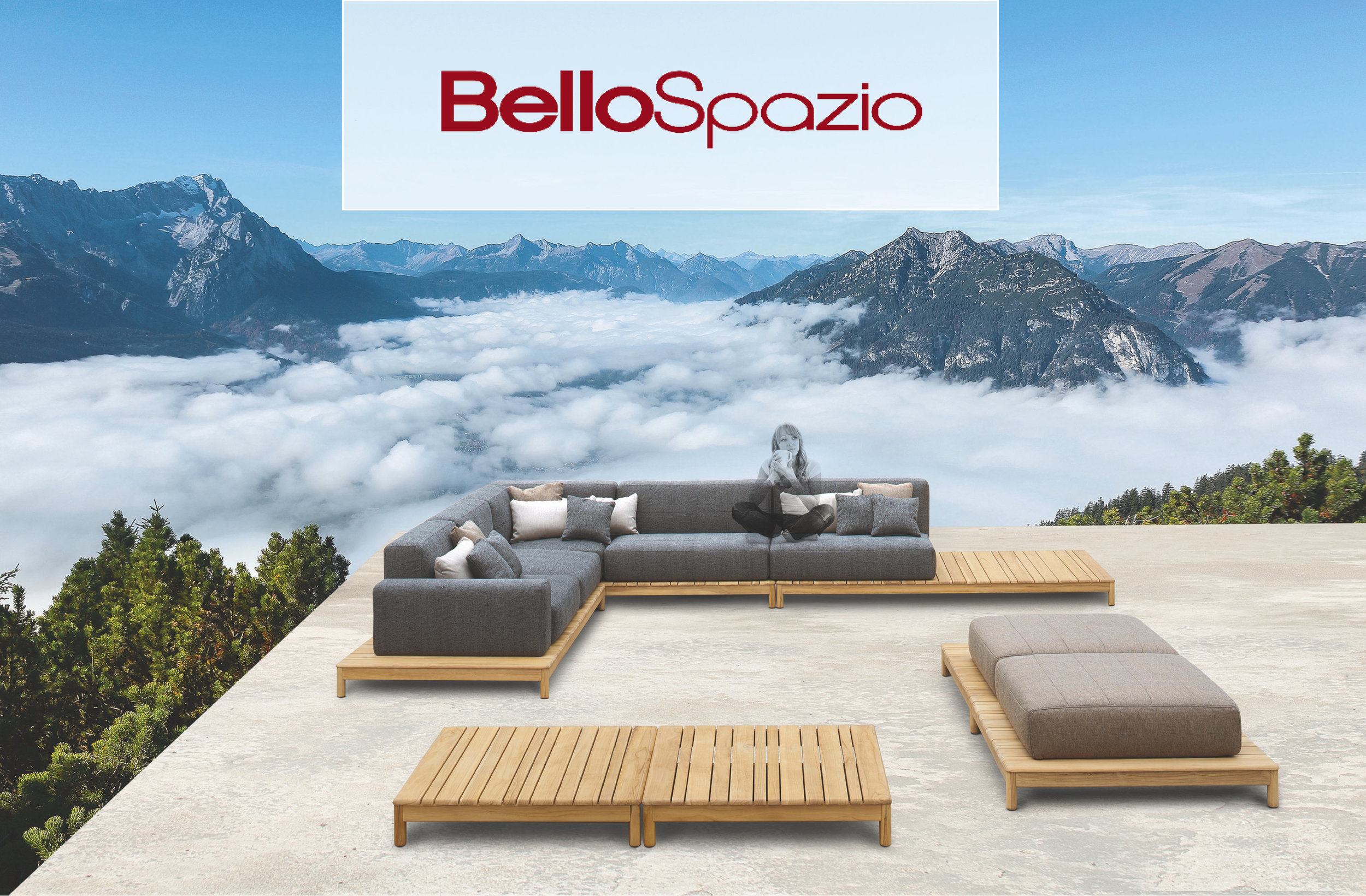 Outdoor Sofas and ottomans