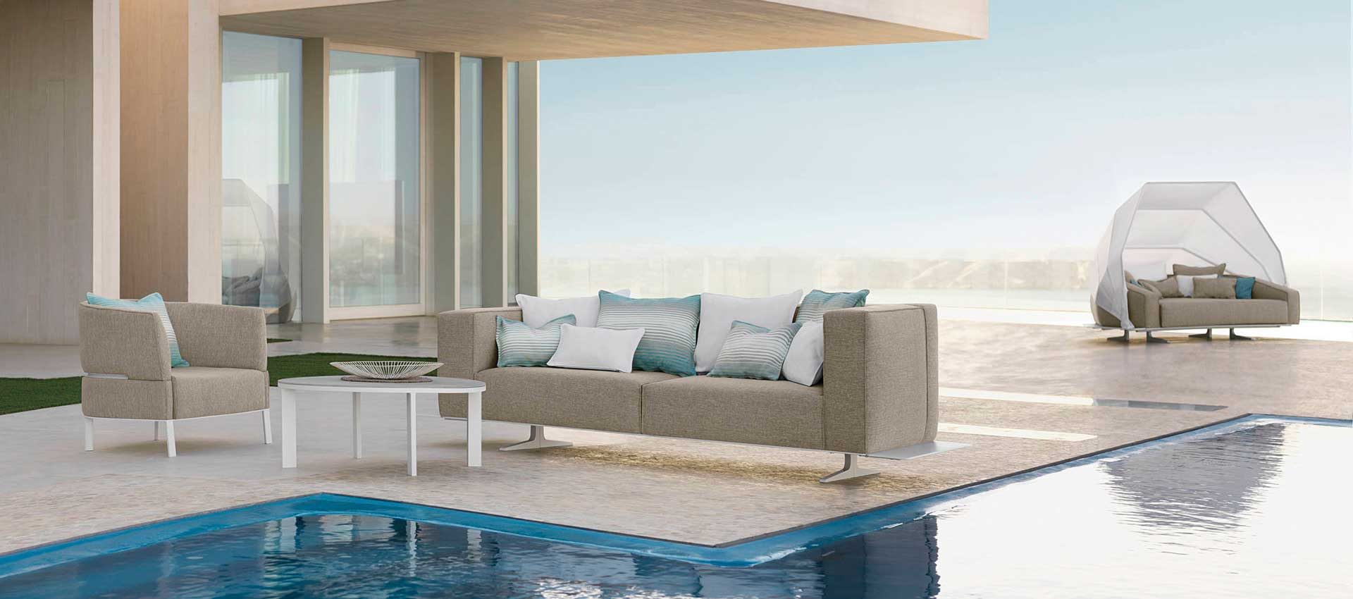 Outdoor Sofas -  Armchairs - Sunbed