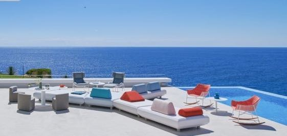 Outdoor tables - dining armchairs - sofas - coffee tables