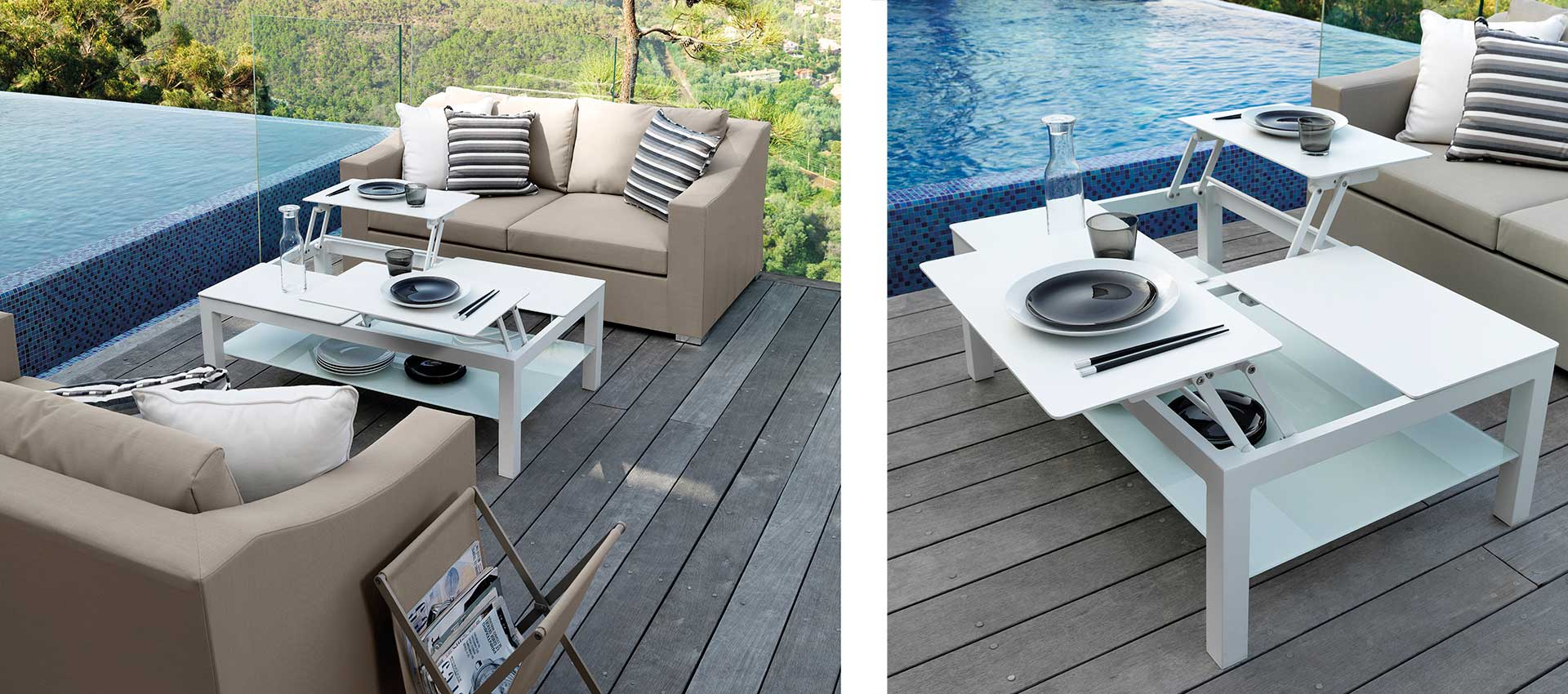 Outdoor Sofas - coffee tables
