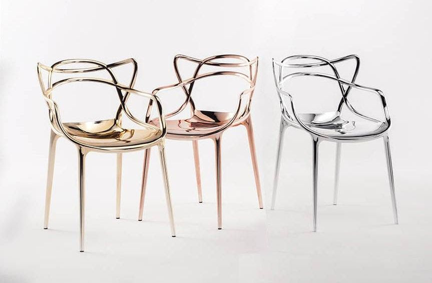Kartell - Dining Armchairs - MASTERS by Phillipe Starck