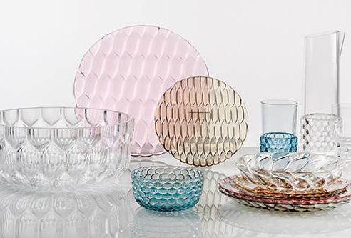 Kartell - tableware for outdoor