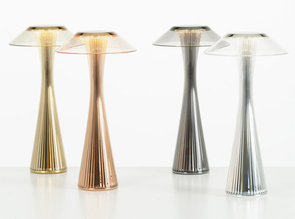 Kartell - lamps - SPACE by Adam Tihany.