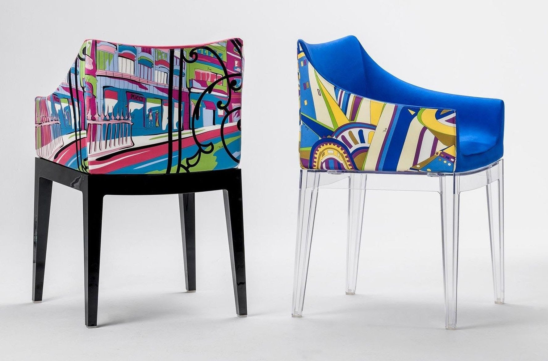 Kartell - dining armchairs - MADAME by Phillipe Starck