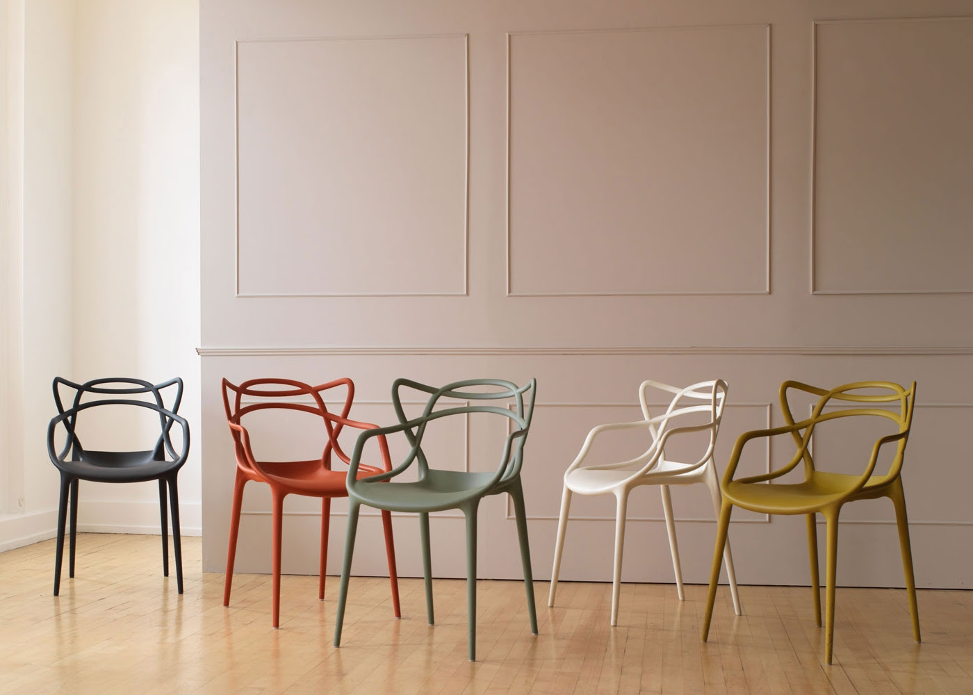 Kartell - dining armchairs
