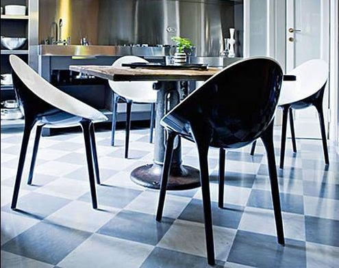 Kartell - tables and dining armchairs