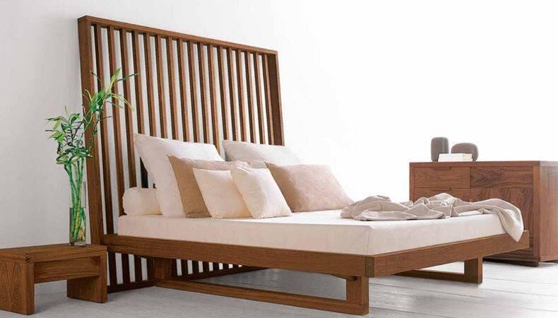 Wood Bed - wood warbrobes