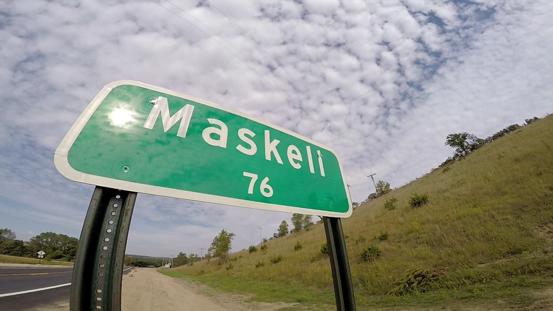 Maskell, NE. Population: 76. Even towns as small as these still have their stories.