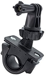 Handlebar GoPro Mount  You can keep your GoPro on a swivel this way as you film your ride!