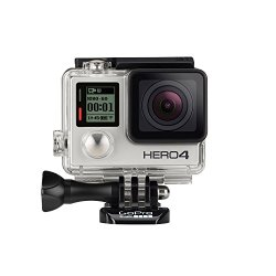 GoPro Hero 4: Silver  I've had this camera longer than any. Good for strapping to a helmet, handlebars, setting up action shots or putting through tough terrain. Can also be controlled by remote or cellphone app.