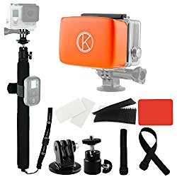 Monopod (Selfie Stick)  Good for any narration shots, reaching the camera into tough places, or annoying your friends.  Warning: Typically banned in cave tours nowadays.