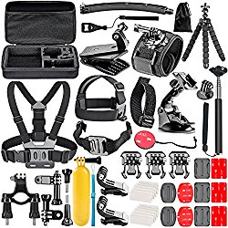 GoPro Accessory Kit  From a chest harness to extra mounts and extensions, this will help make your GoPro more 'useful' in many ways, guaranteed.