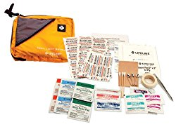 First Aid Kit  Because you never know. A very comprehensive and affordable first aid kit here.