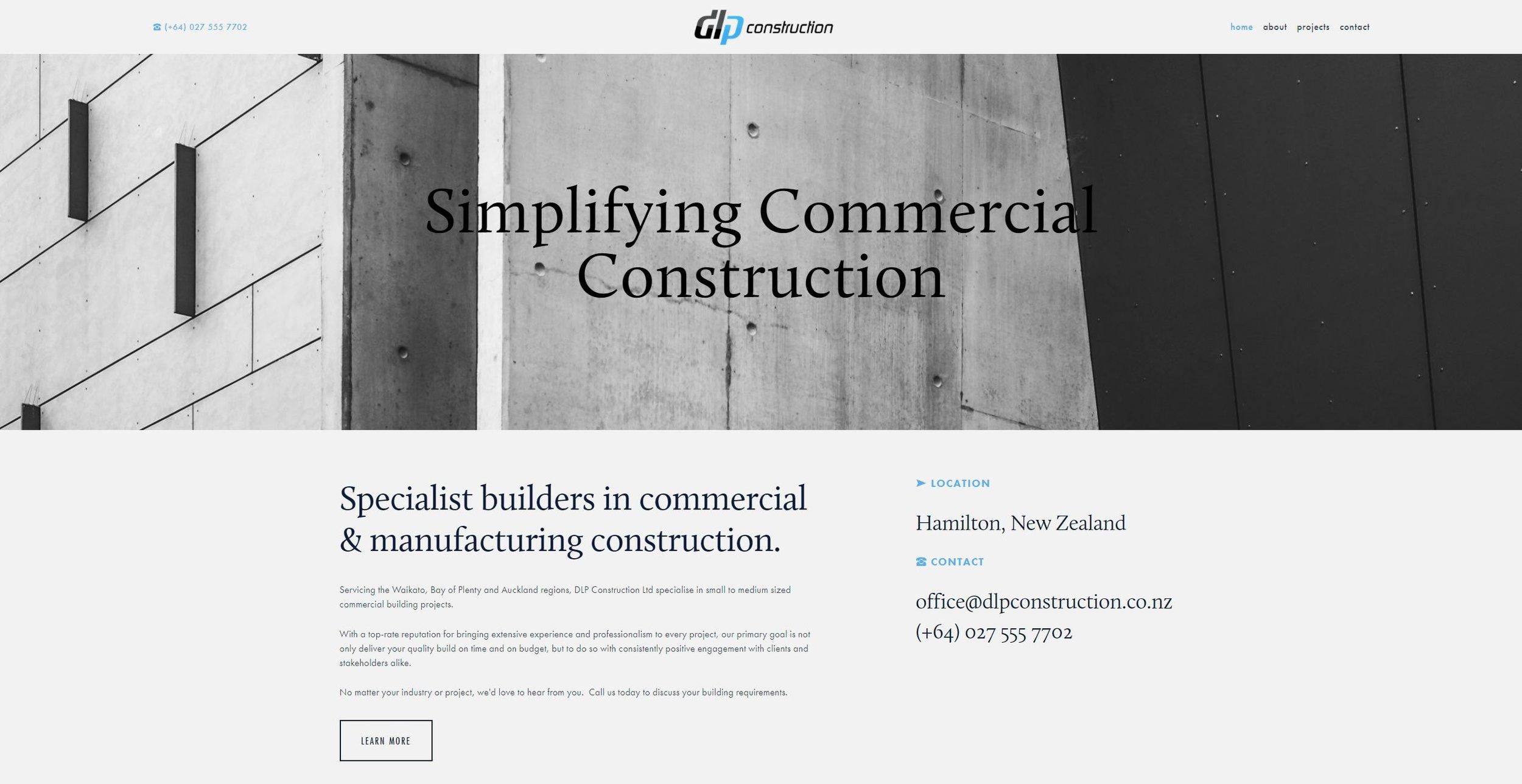 DLP Construction Ltd