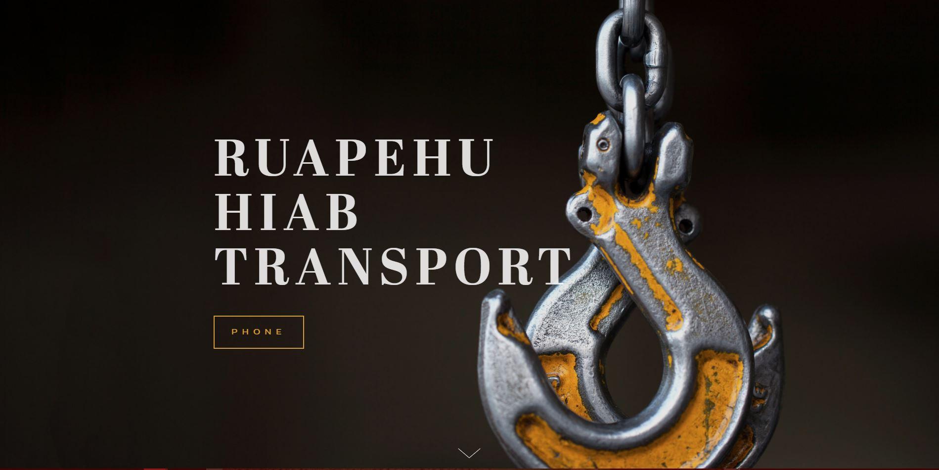 Ruapehu Hiab Transport Ltd