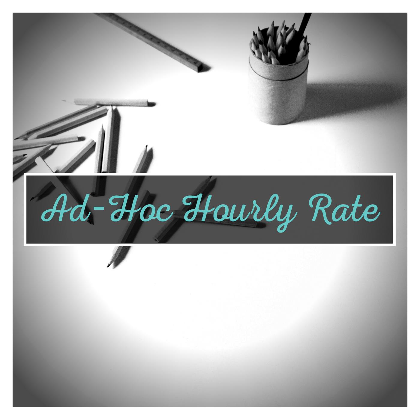 $60 per/hour - All your ad-hoc design needs.